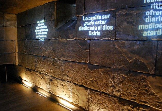 Madrid Temple Debod Inside