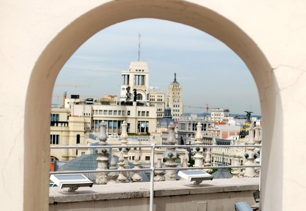 Madrid City Hall Roof Arch