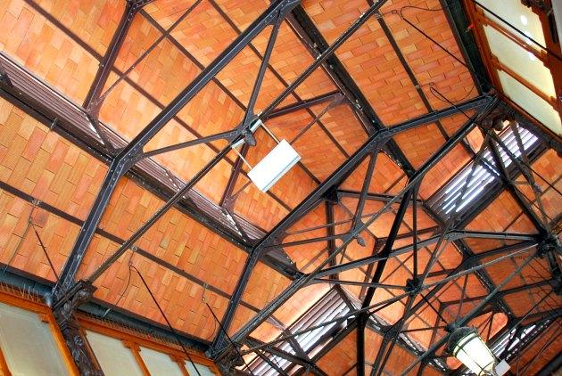 Madrid Mercado San Miguel Ceiling