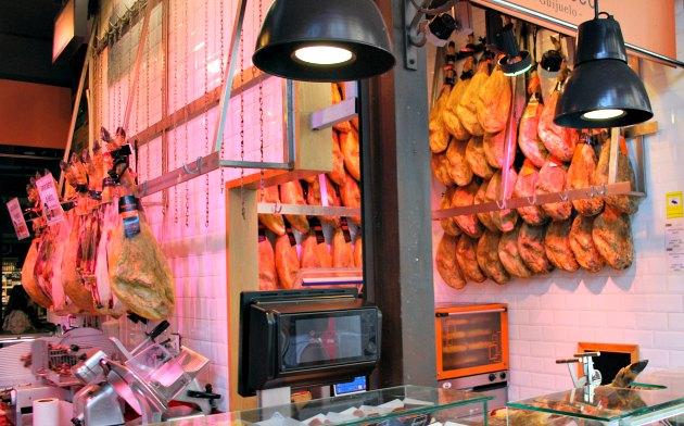 Madrid Mercado San Miguel Meat