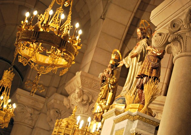 Madrid Santa Maria Crypt