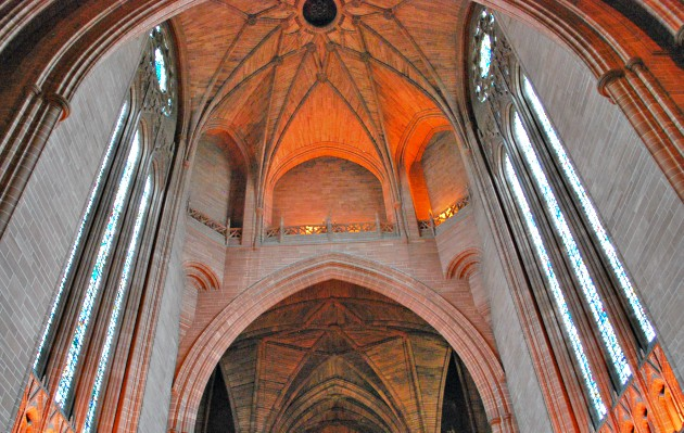Liverpool Cathedral Windows