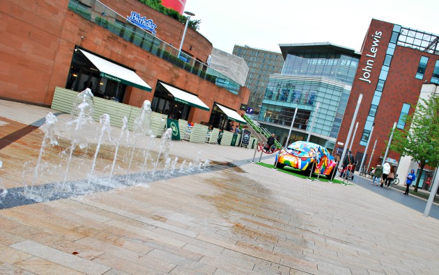 Liverpool One Fountain