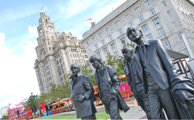 Liverpool Waterfront Beatles Statue