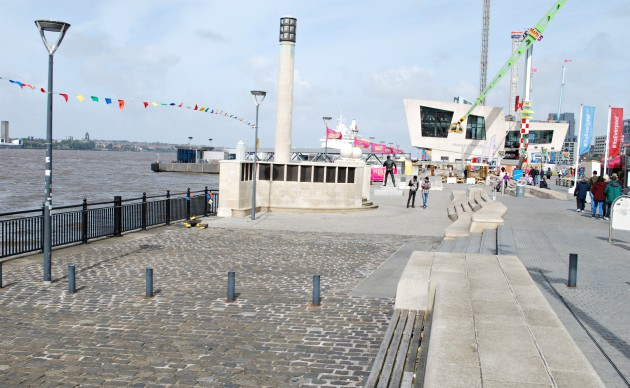Liverpool Waterfront Museum Walkway