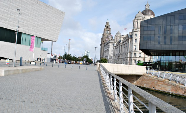 Liverpool Waterfront Museum and Liver Building