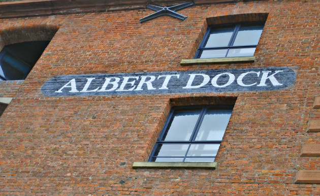 Liverpool Albert Dock Sign