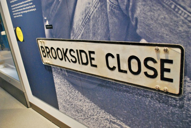 Liverpool City Museum Brookside sign
