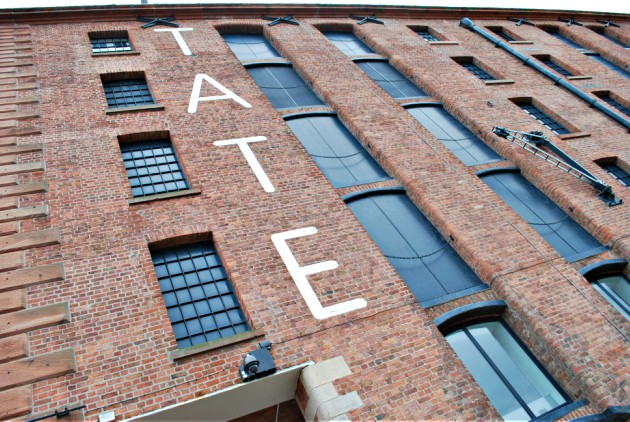 Liverpool Tate Exterior Wall