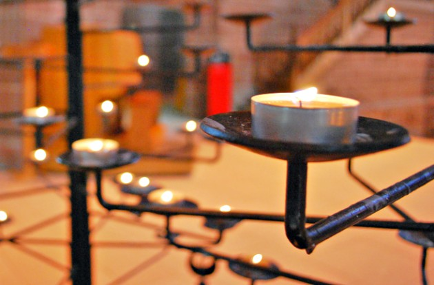 Liverpool Cathedral Candles