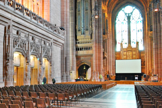 Liverpool Cathedral Chairs