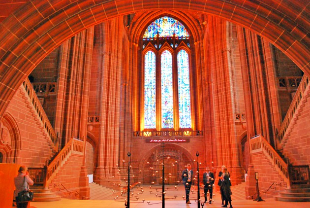 Liverpool Cathedral arch
