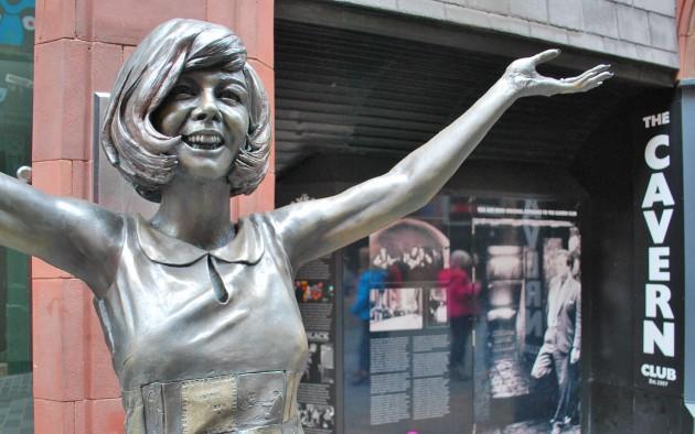 Liverpool Cilla Statue