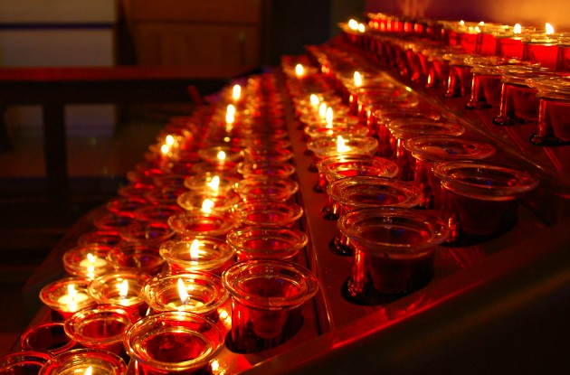 Liverpool Metropolitan Cathedral Candles