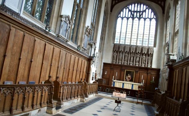 Oxford St Mary's Church inside
