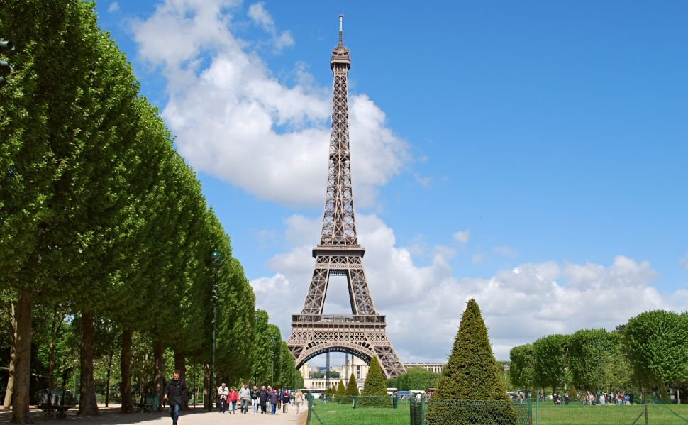 Paris Eiffel Tower Daytime