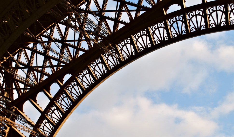 Paris Eiffel Tower Ironwork