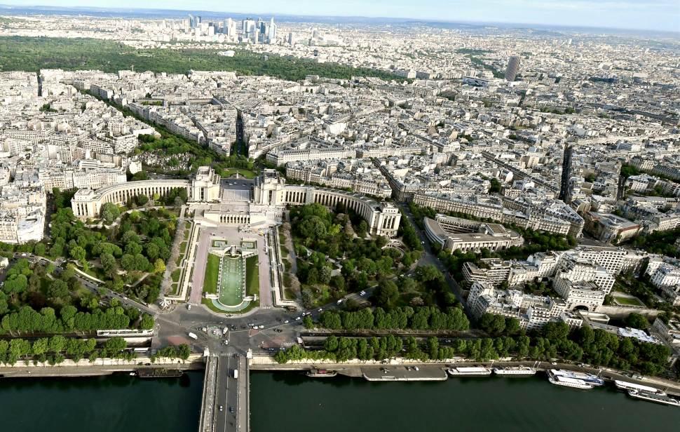 Paris Eiffel Tower View