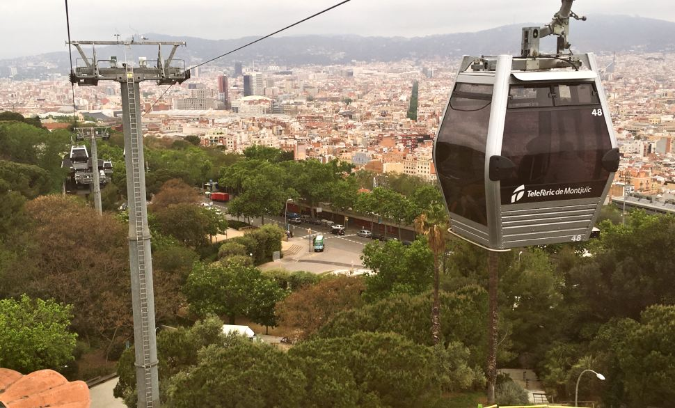 Barcelona Cable Car Cab