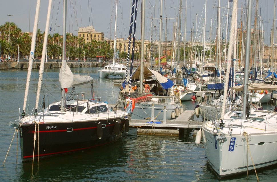 Barcelona Harbour Marina Large