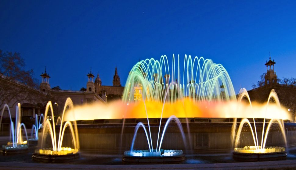 Barcelona Magic Fountain New