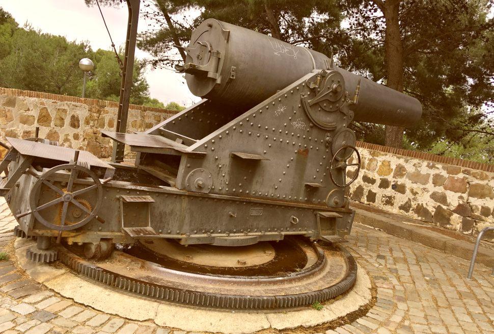 Barcelona Montjuic Cannon