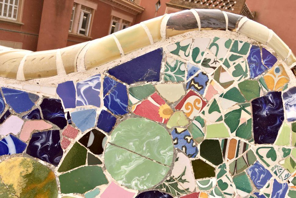 Barcelona Parc Guell Mosaics