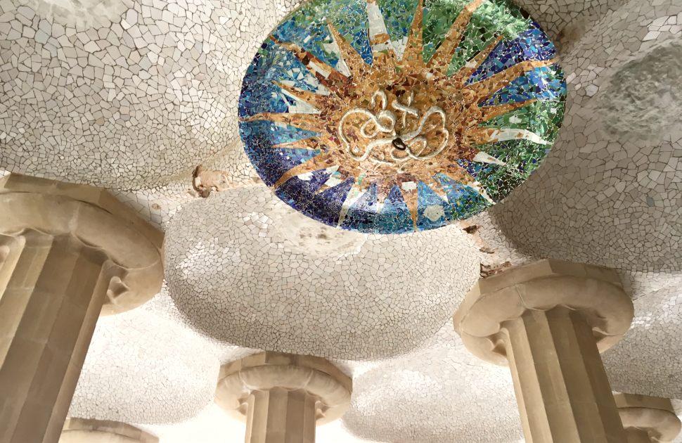 Barcelona Parc Guell undercroft