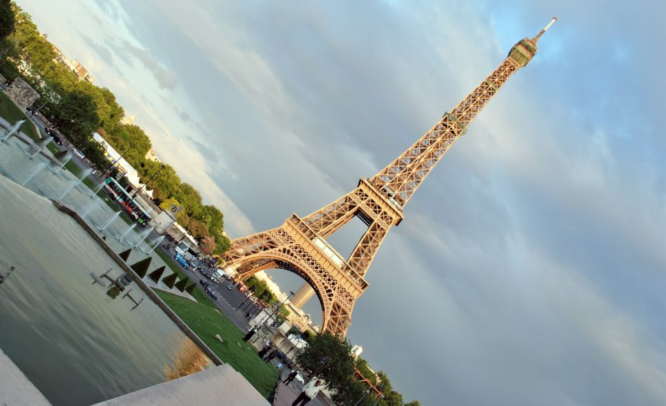 Paris Eiffel Tower Slanted New