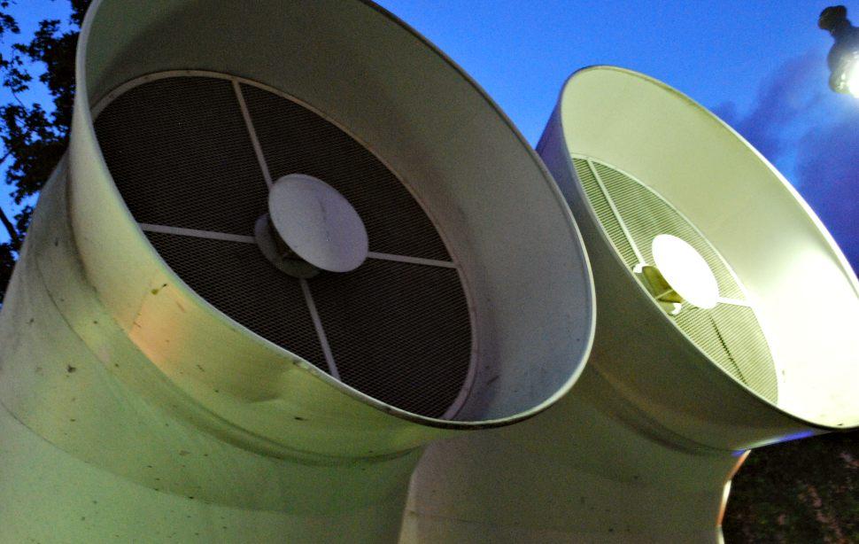Paris Centre Pompidou Funnels New