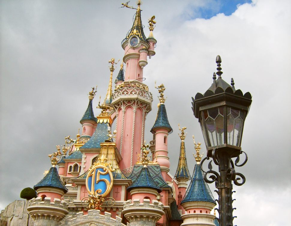 Paris Disney Castle Front New