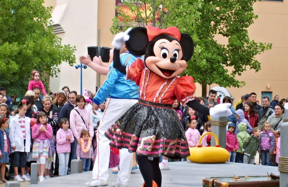 Paris Disney Minnie New