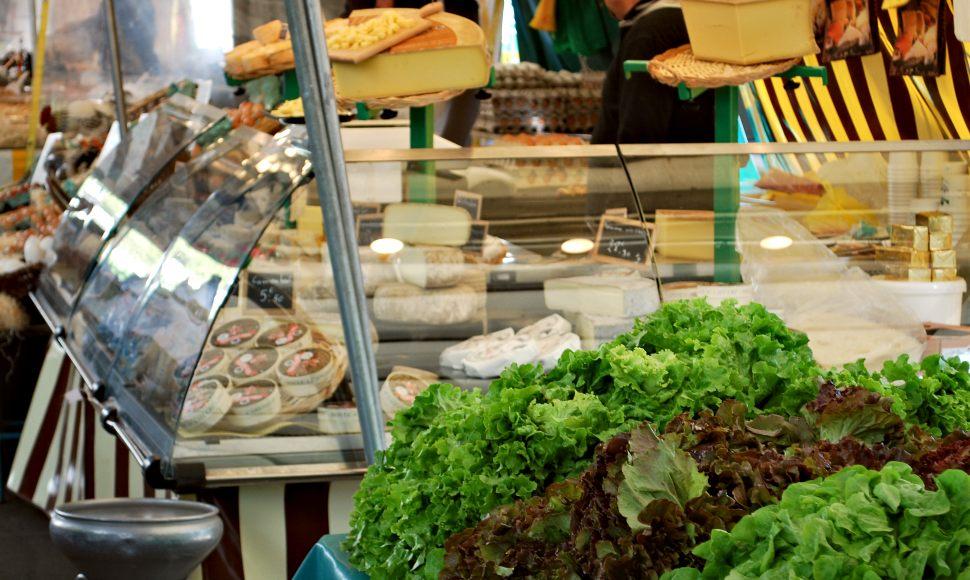 Paris Grenelle Market Cheese New