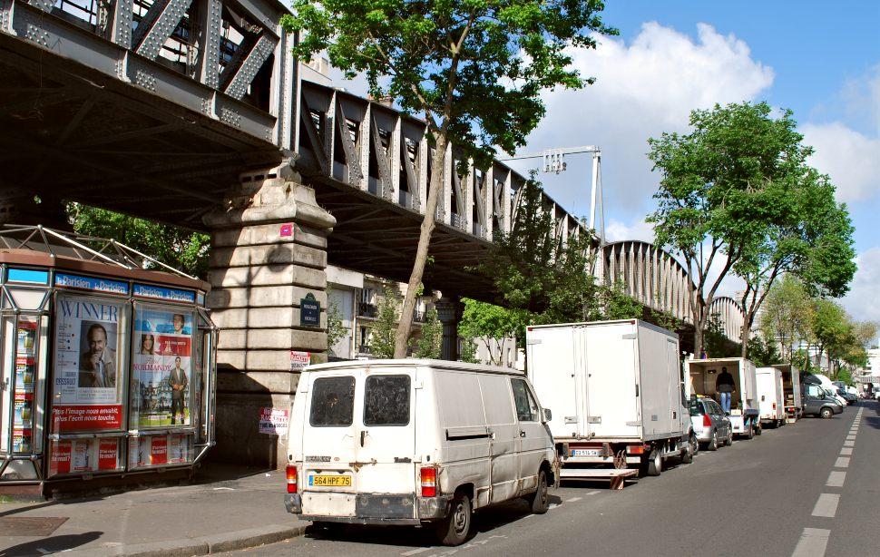 Paris Grenelle Market Vans New