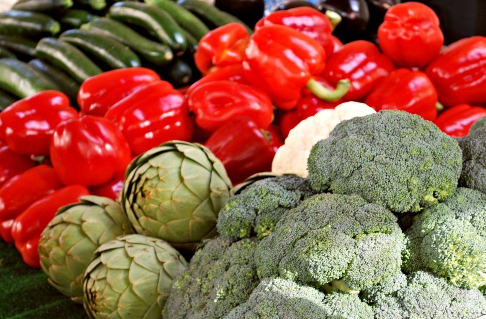 Paris Grenelle Market Vegetables New
