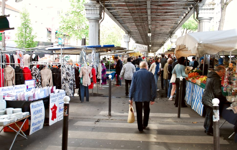 Paris Grenelle Market Wide New