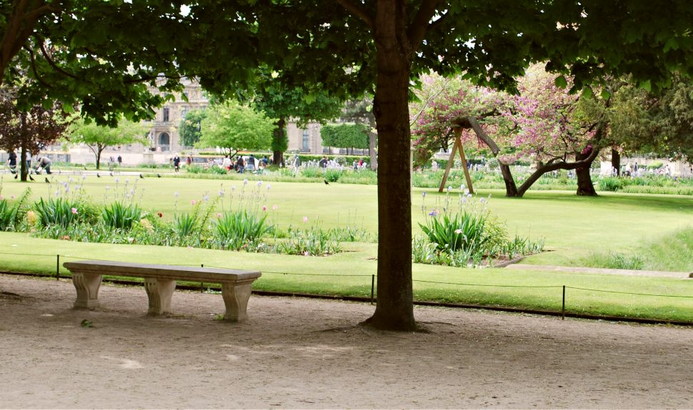Paris Jardin de Tuileries Bench