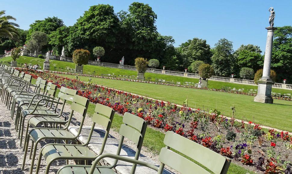 Paris Jardin du Luxembourg Chairs
