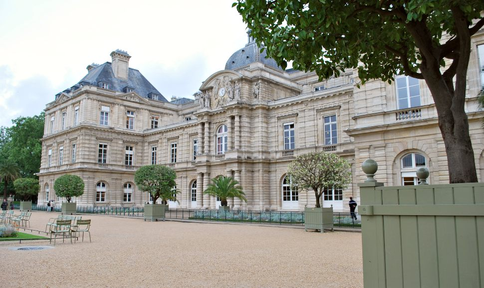 Paris Jardin du Luxembourg Palace New