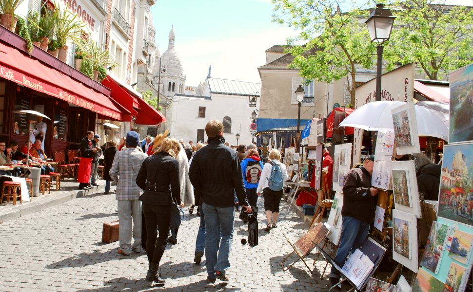 Paris Montmartre Artists Market new