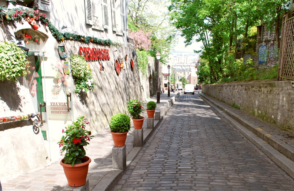 Paris Montmartre Hill