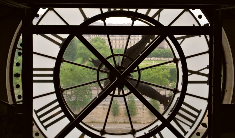 Paris Musee D'Orsay Clock New