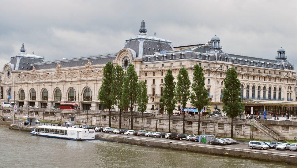 Paris Musee D'Orsay Exterior New