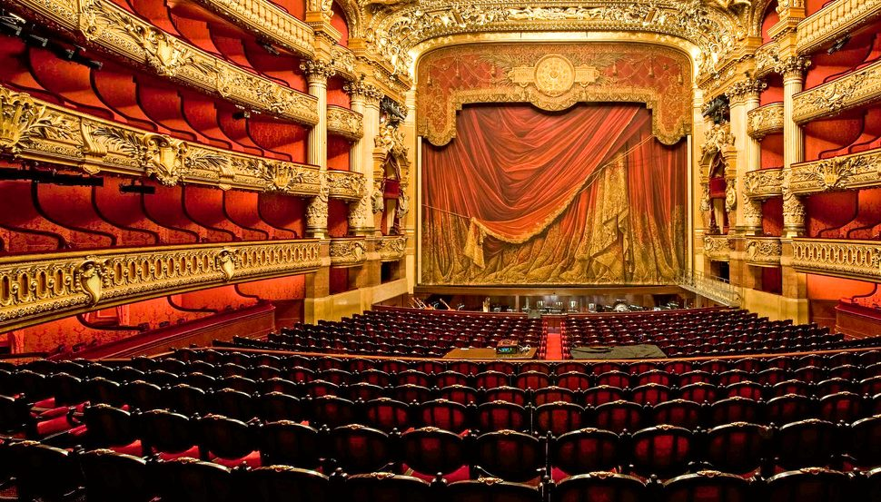 Paris Opera Garnier Auditorium