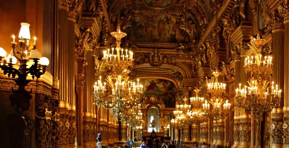 Paris Opera Garnier Chandeliers