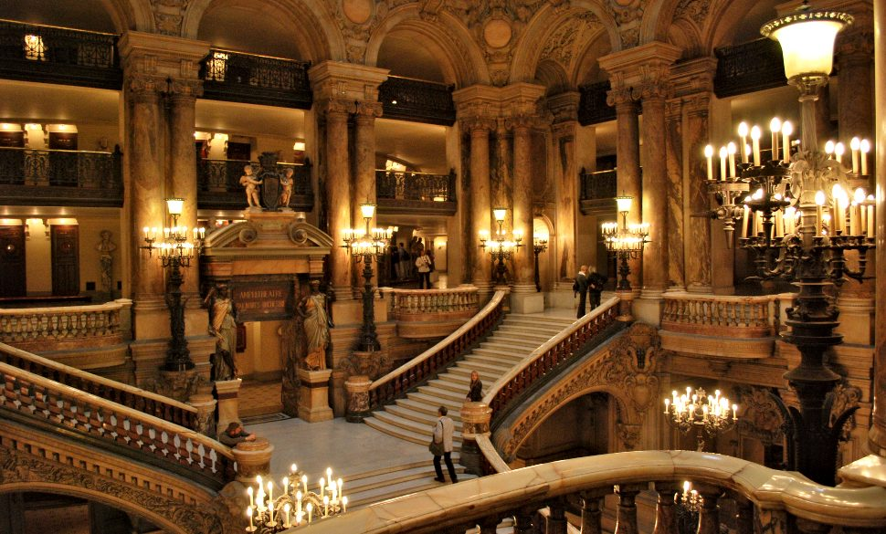 Paris Opera Garnier Stairs New