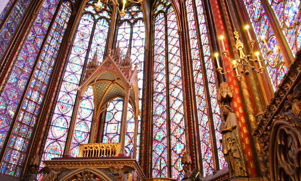 Paris Sainte Chapelle Pulpit