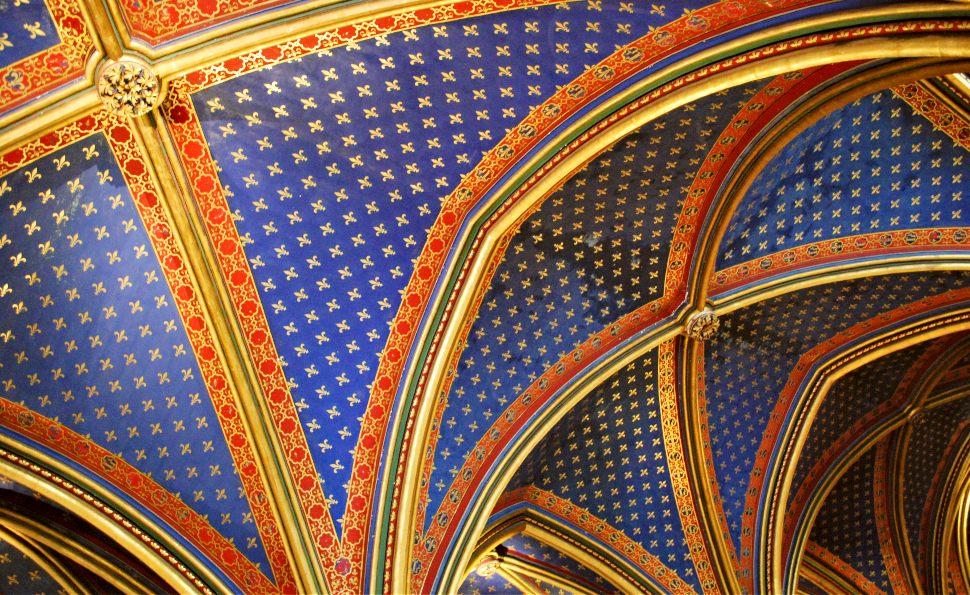 Paris Sainte Chapelle Ceiling
