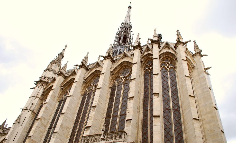 Paris Sainte Chapelle Exterior