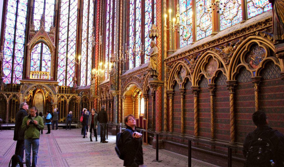 Paris Sainte Chapelle Interior